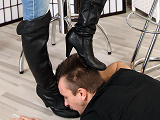 Foot worship female video domination used think